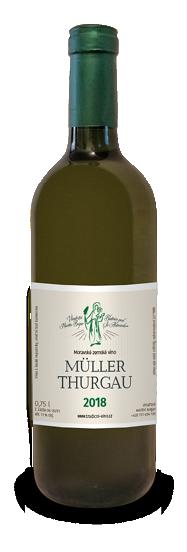 Nabídka vín z Moravy, Müller Thurgau