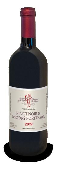 Nabídka vín z Moravy, Pinot Noir a Modrý Portugal