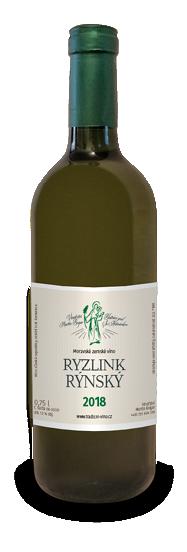 Nabídka vín z Moravy, Ryzlink Rýnský